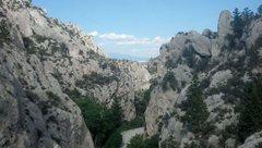 Rock Climbing Photo: Indian Creek, near Townsend MT.