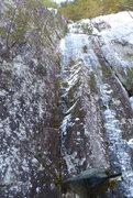 Rock Climbing Photo: Sockman and Horner's Crack