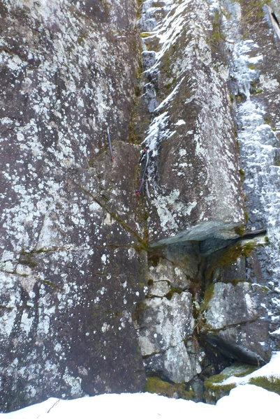 Rock Climbing Photo: Start of Sockman