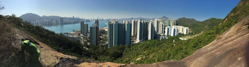 Rock Climbing Photo: View from Devil's Peak