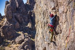 Rock Climbing Photo: Dr. Know 5.10c New Jack City