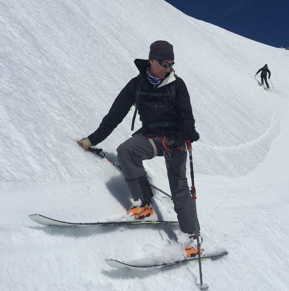 Rock Climbing Photo: Spring Skiing, Switzerland