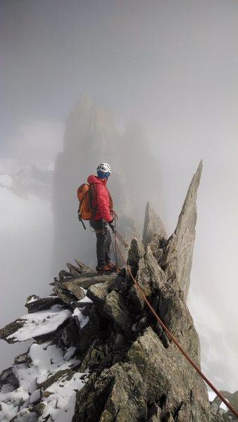 Alpine Climbing in The Italian Alps
