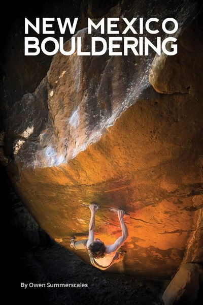 Rock Climbing Photo: New Mexico Bouldering guide front cover, photo by ...