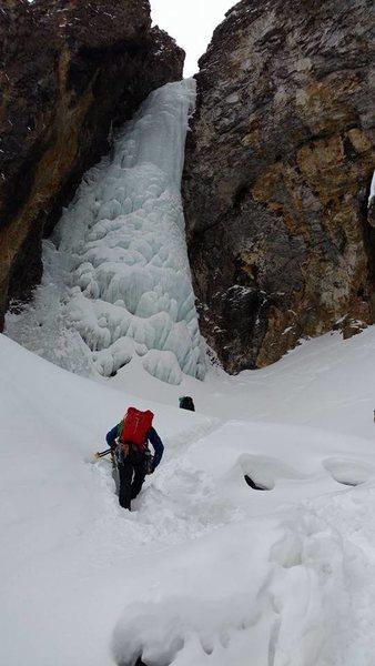 Rock Climbing Photo: Whore House Hoses, Silverton, Colorado December 20...