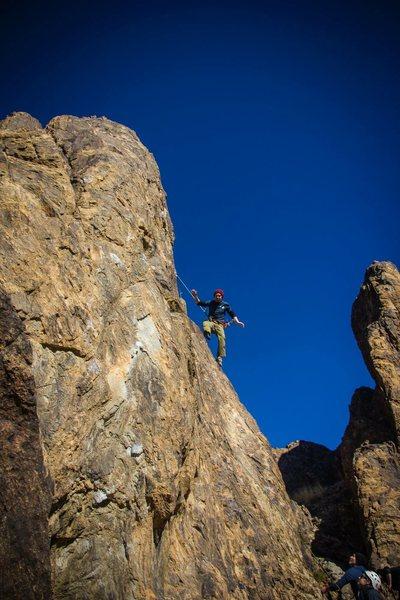 Rock Climbing Photo: taking a nice fall