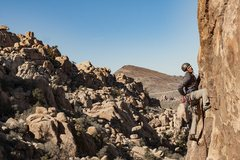 Rock Climbing Photo: Leading Jerry Brown