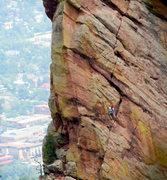 Rock Climbing Photo: Friday's Folly.