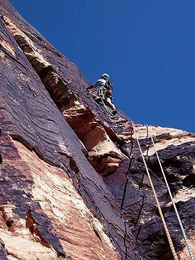 Easy climbing on CitH.