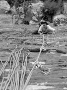 Rock Climbing Photo: Sand Falipe, grid bolted unfortunately