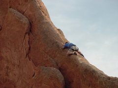 Rock Climbing Photo: Someone about to defecate on Montezuma's North Rid...