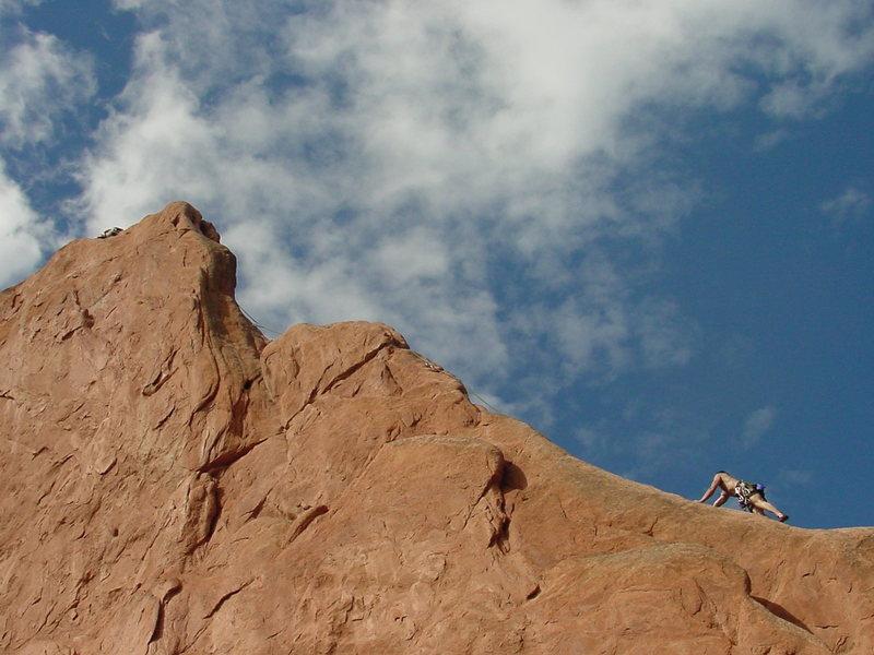 Rock Climbing Photo: North Ridge of Montezuma's.