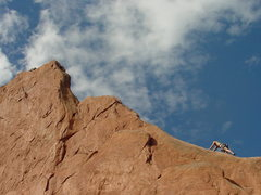 Rock Climbing Photo: North Ridge of Montezuma's.
