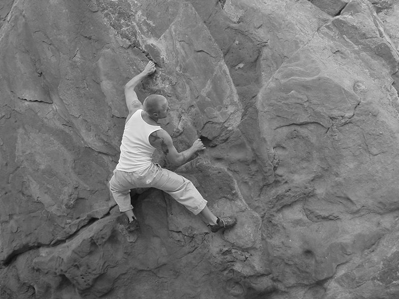 Rock Climbing Photo: Spires Traverse.
