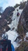Rock Climbing Photo: Starting pitch 1.