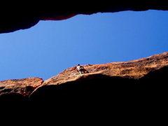 Rock Climbing Photo: Black Corridor.