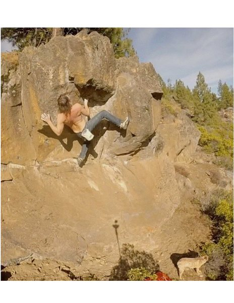 Rock Climbing Photo: central Oregon bouldering
