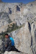 Rock Climbing Photo: The summit. Views towards the Angel Wings and The ...
