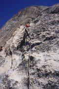Rock Climbing Photo: Pitch 3 - sea of perfect rock.