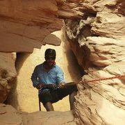 Rock Climbing Photo: Lost & Found Rappel