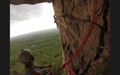 Rock Climbing Photo: bonnies roof, gunks