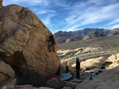 Rock Climbing Photo: What a location.
