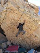 Rock Climbing Photo: Cory.