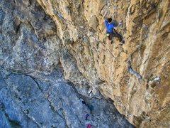 Rock Climbing Photo: Dark Boy