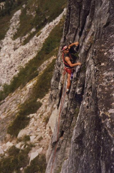 Rock Climbing Photo: Bear's Reach