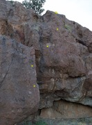 Rock Climbing Photo: Cherry Buster. Note that the first two bolts are o...