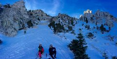 Rock Climbing Photo: Alpine Ice And mixed gulley through The Pyramids!!...