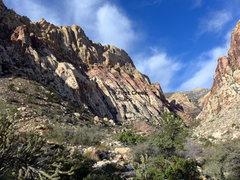 Rock Climbing Photo: Slabs location