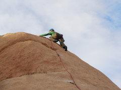 Rock Climbing Photo: Nearing the top of Mr. Maxle.