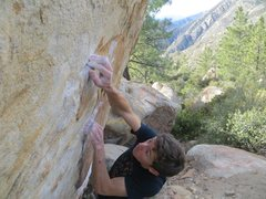 Rock Climbing Photo: Crimping