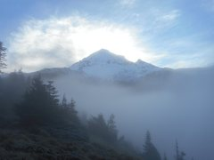 Rock Climbing Photo: Mt. Hood.