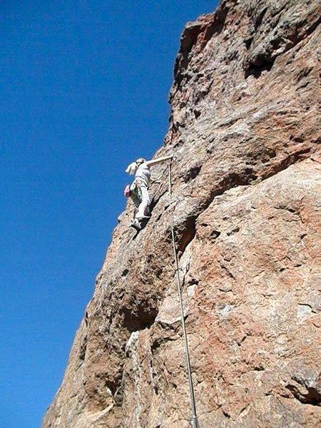 Rock Climbing Photo: Fire Cracker
