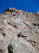 Rock Climbing Photo: Looking up Earwig