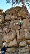 Rock Climbing Photo: The multiple variations of Mai Tai, 5.10, at the H...