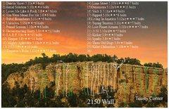 Rock Climbing Photo: 2150 Wall and Toasty Corner areas.