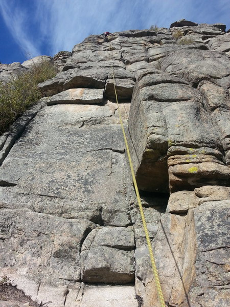 Rock Climbing Photo: Late October 2015