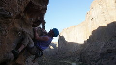 Rock Climbing Photo: Obscenely good climbs here in the canyon