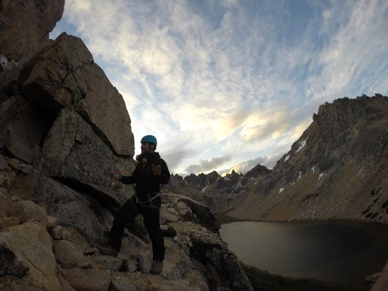 Rock Climbing Photo: and then you pinch it beta blah blah