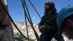 Rock Climbing Photo: Epic belay shot