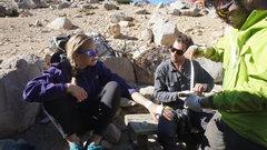 Rock Climbing Photo: tape gloves!