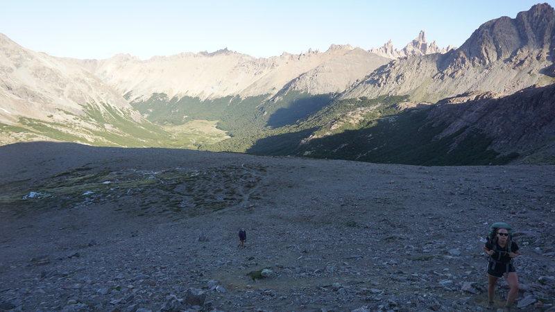 hike up to Jakob