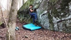Rock Climbing Photo: Starting Buttery Flake