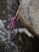 Rock Climbing Photo: Drew Connor on start