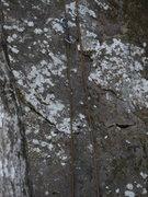 Rock Climbing Photo: Starting of slab.