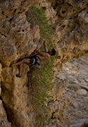 Rock Climbing Photo: Don't remember the name of the climb, but a fun 5....