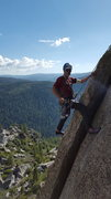 Rock Climbing Photo: Fellow climber on Ginger Bread. Photo taken from t...